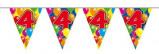 Afbeelding van Amigo Vlaggenlijn ballonnen: 4 jaar 10 meter
