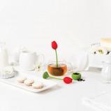 Afbeelding van Tulp thee ei van Ototo Design