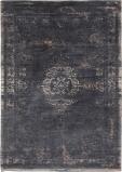 Afbeelding van Louis de Poortere Fading World Medallion vloerkleed (Afmetingen: 200x140 cm, Basiskleur: zwart)