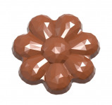 Afbeelding van Bonbonvorm Chocolate World Bloem (10x) 6,5x42,5 mm