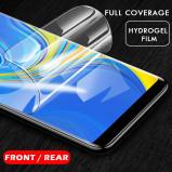 Εικόνα του 0.1mm Protective Film for Samsung A9 A8 A7 Gel Screen protector for Galaxy A8 Plus A7 2018 3D back Hydrogel Film