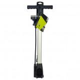 Afbeelding van Dresco fiets fietspomp met manometer 52cm
