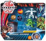 Image of Bakugan Battle Pack Aurelus Lupitheon & Haos Vicerox