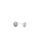 Image of TI SENTO Milano Earrings White Silver Plated 7613ZI