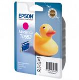 Afbeelding van Epson T0553, Magenta inkt cartridge RX420/425/RX240/245/RX520