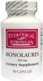 Afbeelding van Ecological Form Monolaurine 300 Mg, 90 capsules