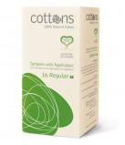 Afbeelding van Cottons Tampons met Inbrenghuls Regular, 16 stuks