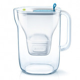 Afbeelding van BRITA Fill & Enjoy Style Cool Waterfilterkan 2,4 L Blauw/Wit