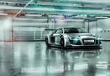 Afbeelding van Audi R8 Le Mans 8 delig Fotobehang 368x254cm Transport