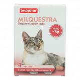 Abbildung von Beaphar Milquestra Wurmtabletten Katze 2 12kg 4St.