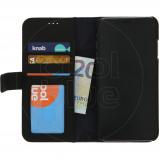 Afbeelding van Decoded 2 in 1 Leather Wallet Apple iPhone Xs Max Book Case Zwart