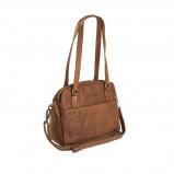 Imagem de Chesterfield Leather Shoulder Bag Cognac Bilbao