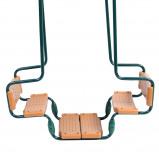 Abbildung von Fatmoose PartyRider Metall Doppelschaukel Kinderschaukel