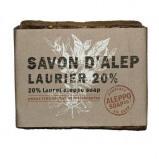 Afbeelding van Aleppo Soap Co Savon D'Alep Zeep met 20% Laurier