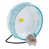 Abbildung von Kerbl Hamsterlaufrad aus Kunststoff 20x8cm