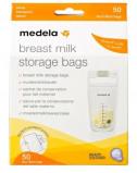 Afbeelding van Medela moedermelkbewaarzakjes 180 ml (50 stuks)