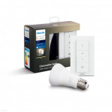 Afbeelding van Philips Hue Bluetooth White E27 Lichtbron Single Pack incl. dimmer switch Wit