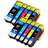 Afbeelding van Geschikt 2x Epson 26XL (T2636) voordeelbundel (inktcartridges) Alleeninkt