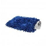 Afbeelding van btc blue line microvezel washandschoen
