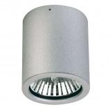 Afbeelding van Albert Leuchten gavino opbouw plafondspot voor buiten in zilver, gietaluminium, E27, 75 W, energie efficiëntie: A++, H: 12 cm
