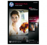 Billede af HP premium plus semi gloss inkjet fotopapir A4, 300g, 20 ark (CR673A)