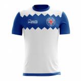 Image of 2017 2018 Iceland Away Concept Football Shirt (Kids)