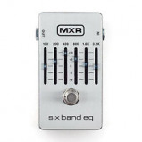 Abbildung von MXR M 109S 6 Band Graphic Equalizer silver