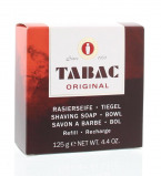 Afbeelding van Tabac Original Scheerzeep Pot Navulling 125 gr