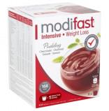 Afbeelding van Modifast Intensive pudding chocolade 1 doos met 9 zakjes