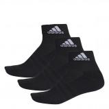 Afbeelding van Adidas 3 Stripes Performance Ankle Pack Sportsokken Black EU 35 38