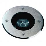 Afbeelding van Albert Leuchten zwenkbare LED grondinbouwspot Fabio 4000K, gegoten aluminium, roestvrij staal, veiligheidsglas, 4.5 W, energie efficiëntie: A+, H: 0.3 cm