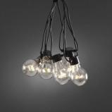 Afbeelding van Konstmide CHRISTMAS led lichtketting basisset, transparant, kunststof, energie efficiëntie: A+, L: 2000 cm
