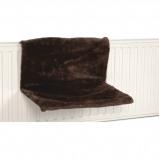 Abbildung von Beeztees Heizungshängematte Sleepy Braun 46x31x24cm