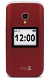 Afbeelding van Doro 2424 Red/White mobiele telefoon