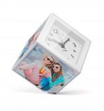 Afbeelding van Balvi foto kubus draaiend met klok voor 10 x cm