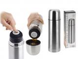 Afbeelding van Shoppartners RVS thermosfles/isoleerfles 750 ml Thermoskannen/warmhoudkannen
