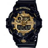 Afbeelding van Casio G Shock GA 710GB 1AER Classic Style horloge herenhorloge Goudkleur,Zwart
