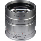 Afbeelding van 7artisans 55mm F1.4 Silver voor Sony E Mount