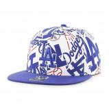 Afbeelding van 47 Brand Los Angeles Dodgers Bravado pet wit/blauw one size