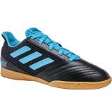 Afbeelding van adidas performance Predator 19.4 IN zaalvoetbalschoenen zwart/lichtblauw