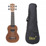"""Imagem de """"""""""""17"""""""""""""""" mini Ukelele Ukulele Sapele/Spruce Top Rosewood Fretboard instrumento de cordas 4 cordas com Gig Bag"""""""""""""""
