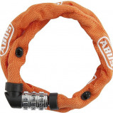 Image of Abus 1200 Combination Chain Lock (Frame colour: orange)