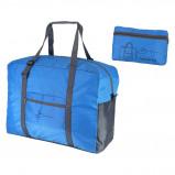 Image of Bardani Carry On Bag Opvouwbare Tas Blauw Antraciet