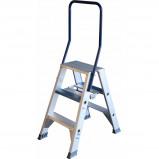 Afbeelding van ASC dubbele trap 3 treeds ladder