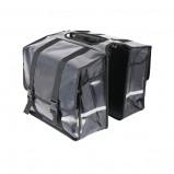 Afbeelding van Dresco Dubbele Fietstas Transporter 40 Liter