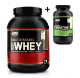 "Bilde av ""100% Whey 2,27 Kg Gold Standard Double Rich Chocolate + Pure Creatine 317g"""