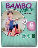Afbeelding van Bambo Nature Pants 6 (luierbroekje) 6 pakken