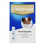 Afbeelding van Bolfo Gold Hond 40 4 Pipetten