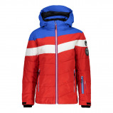 Afbeelding van CMP Boy Jacket Snaps Hood 38W0314 Winterjas Junior Ferrari 164
