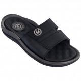 Afbeelding van Cartago Santorini Slide Slippers Heren Grey Black EU 45 46